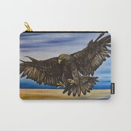 The Golden Eagle Carry-All Pouch