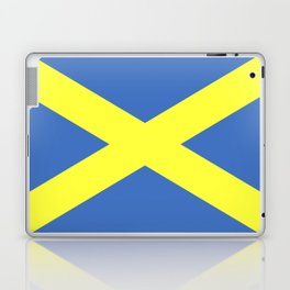 Saint Alban flag Laptop & iPad Skin