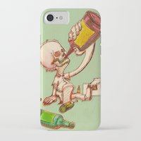drink iPhone & iPod Cases featuring Drink by SaulB