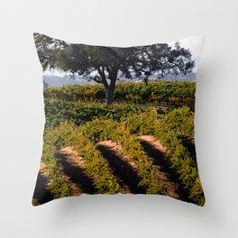 Paso Robles Vineyard Throw Pillow