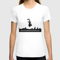 mary poppins T-shirts featuring mary poppins by cubik rubik