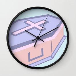 My Very Own Casket Wall Clock