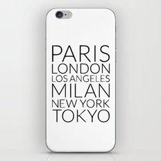 Cities iPhone & iPod Skin