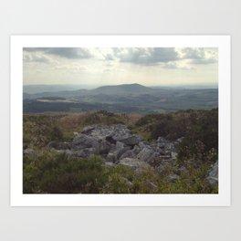 Towards Cader Idris - iPhoneography Art Print