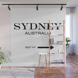Sydney Wall Mural