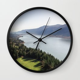 The Columbia River Gorge IV Wall Clock