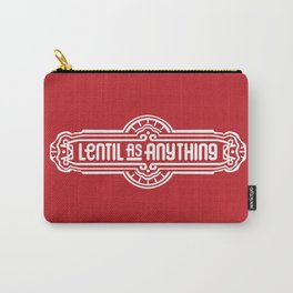 Lentil as Anything - Red Carry-All Pouch