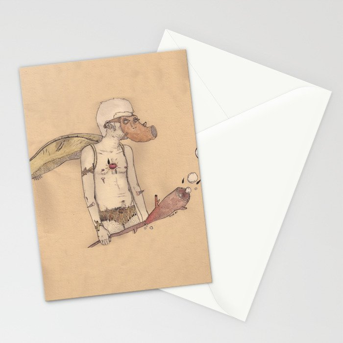 MT man Stationery Cards