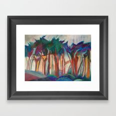 Abstract Landscape I Framed Art Print