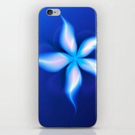 La Fleur Magique de la Sorcière Fractal iPhone Skin