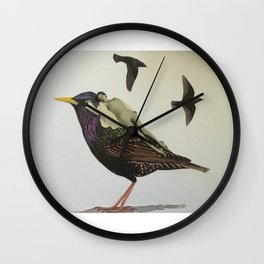 Resting on the Wings of Impatience Wall Clock