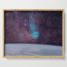 Falling Star | Jellyfish Rising Serving Tray