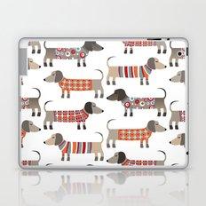 Sausage Dogs in Sweaters Laptop & iPad Skin