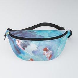 Koi Fish Watercolor Fanny Pack