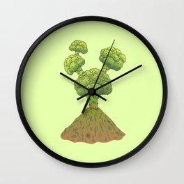 Healthy Eruption Wall Clock
