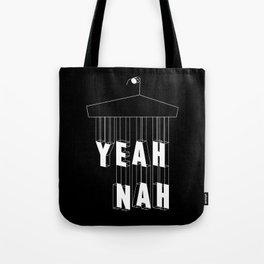 Yeah Nah Wireframe Inverted  Tote Bag