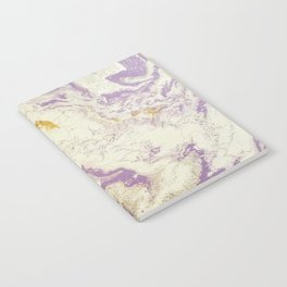 Purple Marble Notebook