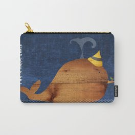 i am a happy whale Carry-All Pouch