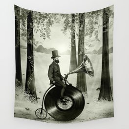 Music Man in the Forest, by Eric Fan and Viviana González Wall Tapestry