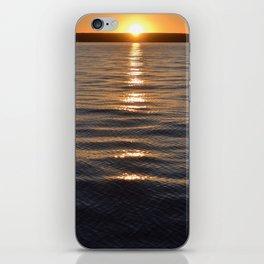 pure horizons iPhone Skin