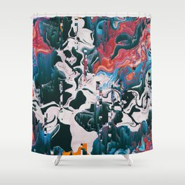 ŸEL3 Shower Curtain