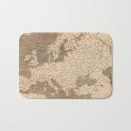 Vintage Map of Europe (1804) Bath Mat