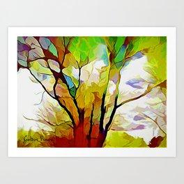 Reach For The Rainbow Art Print