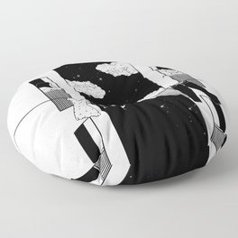 Thinking about you Floor Pillow