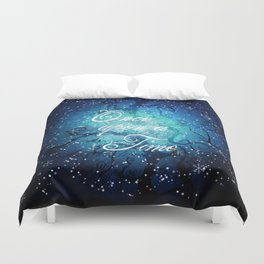 Once Upon A Time ~ Winter Snow Fairytale Forest Duvet Cover