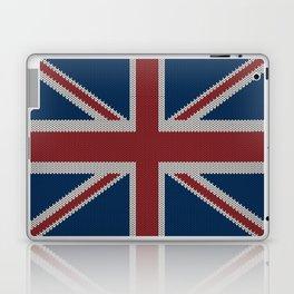 Knitted UnionJack Laptop & iPad Skin