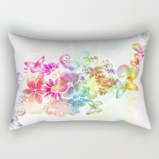 paisley flutter Rectangular Pillow