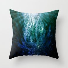 Mystic Tree of Life & Death Throw Pillow