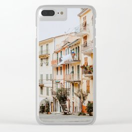 Manarola Cinque Terre Clear iPhone Case