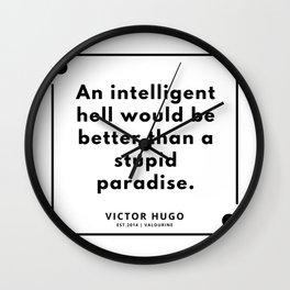31   Victor Hugo Quotes   190830 Wall Clock