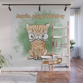 Jarvis Pug Weasley Wall Mural