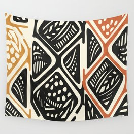 African Tribal Pattern No. 138 Wall Tapestry