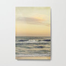 at the sea Metal Print