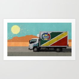 Regalo Helado - The Drug Truck - Better Call Saul Art Print