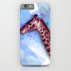 Low poly giraffe iPhone 6s Slim Case