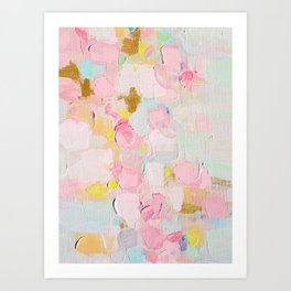 Cotton Candy Dreams Art Print