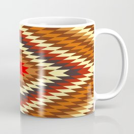 american native traditional ethnic costume motif seamless pattern Coffee Mug