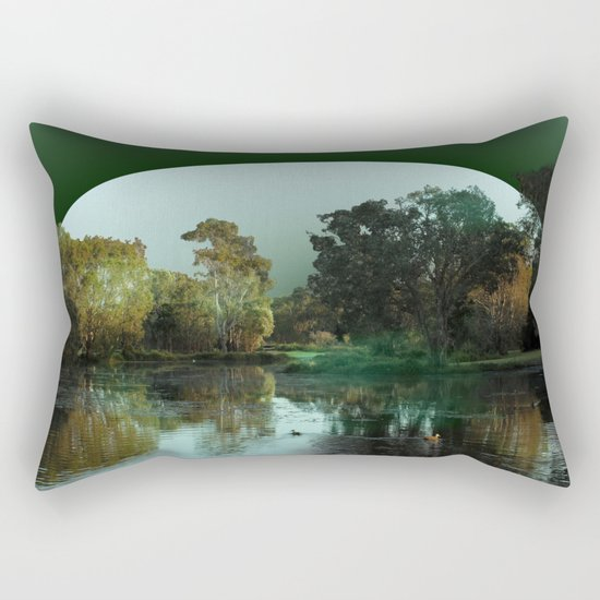 Even small dreams can live large Rectangular Pillow