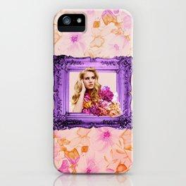 Lana peonies iPhone Case