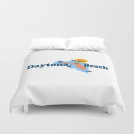Daytona Beach - Florida. Duvet Cover