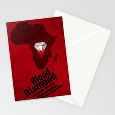 Blood Diamond Poster Stationery Cards