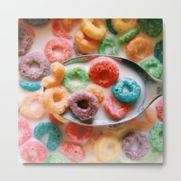 Fruit Loops Metal Print