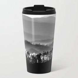 Morning Shades of Smoky Mountains Travel Mug