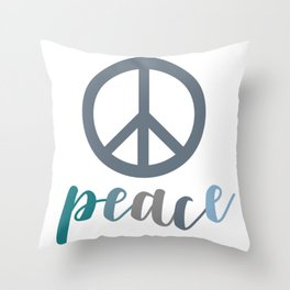 Peace- The symbol of peace Throw Pillow