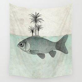 Paradise Goldfish Wall Tapestry