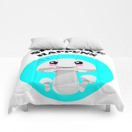 Shiitake Happens Kawaii Mushroom Comforters